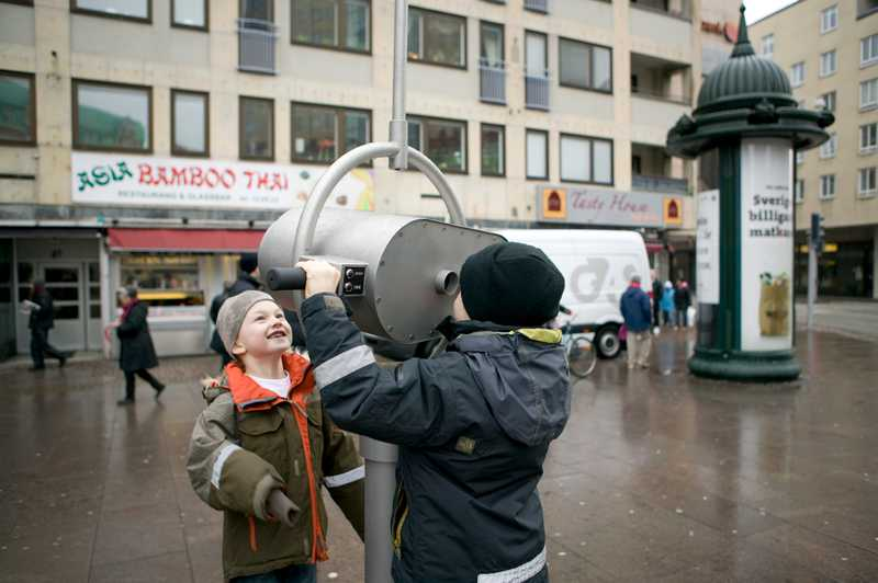 Triangeln: Parascoping kids (Photo: Henrik Ahldin)