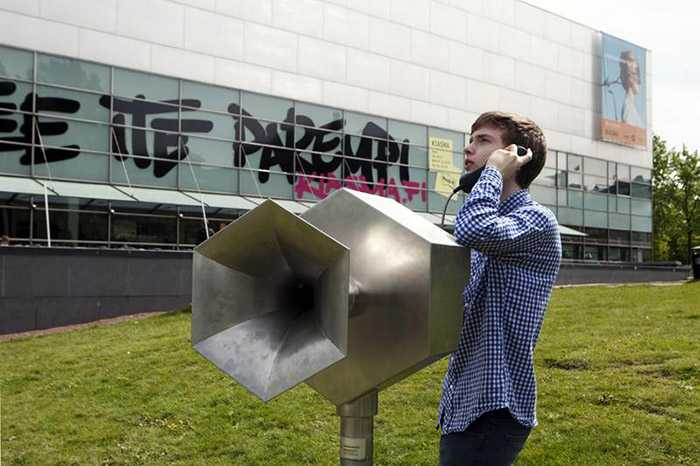 Press Release: World's First Megaphonebooth in Helsinki